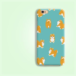 Shiba Matt Hard Phone Case iPhone X 8 8 plus 7 7+ Samsung Note S8 S7 Sony Z5 LG