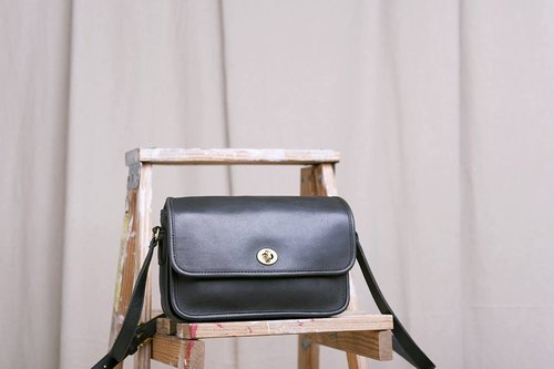 """Vintage 70s COACH bag"" caoch antique pack VBL 015"