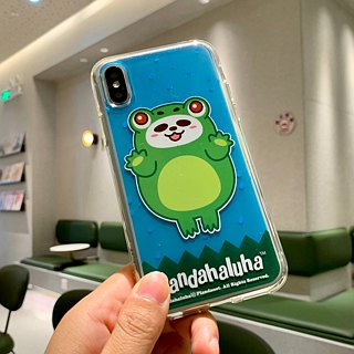 Pandahaluha TPU soft transparent phone case (iPhoneX) CTIPHX-PH-58