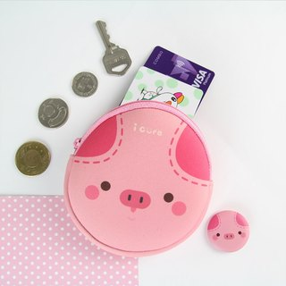 I money pink purse full of series - A3. Pig pig pink 齁 齁 D