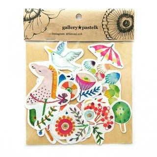 Fairy-tale spring color flake seal 22 pieces