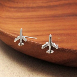 Opened for designated customers - aircraft earrings (single)