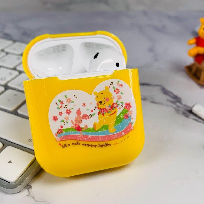 【Hong Man】迪士尼正版授權 AirPods硬式保護套 小熊維尼&小豬