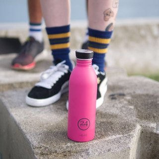 *24Bottles - Urban Bottle Passion Pink - 100g lightweight stainless steel bottle