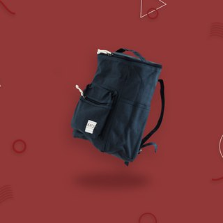 BUCKET BEAM BAG : NAVY COLOR