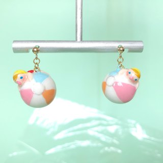 Beach Ball Earrings