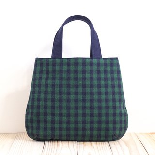 Walking bag - black and green EH115