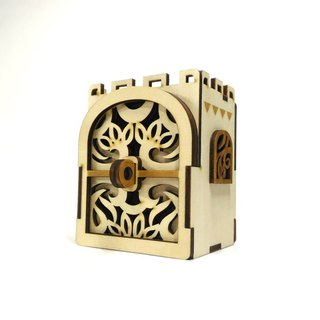 【Rose Castle - deposit box / storage box】 Elegant office storage