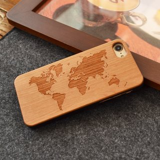 Real Wood Phone Case For Samsung Galaxy S6 S7 Edge For Iphone 6 7 8 X