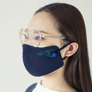 Fog air ribs cloud glasses family anti-fog couple mask new patent gift 4 anti-fog filter