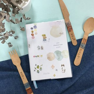 Berger stationery xZAKKA 2019 / 32K Rubber Bi-Year Manual [Limited sales]