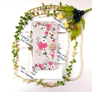 pajour) Gurej Retro Botanical Garden Garden Handicraft Case [Fall Winter] [Flower Pattern]