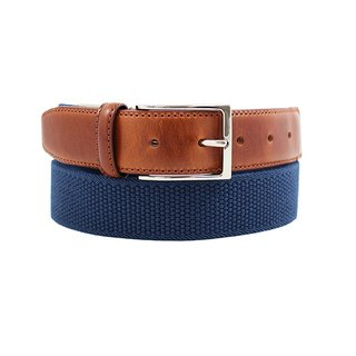 LAPELI │ Belgian elastic fabric belt - plain little blue