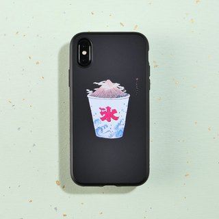 SolidSuit classic anti-drop mobile phone shell / ukiyo-e series - ice and fire homologous for iPhone series