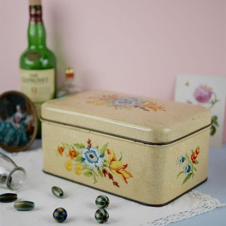Antique tin box