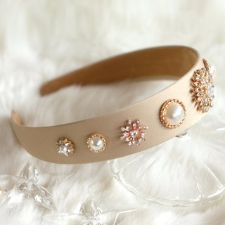 Glamorous Accessorized Wide Headband