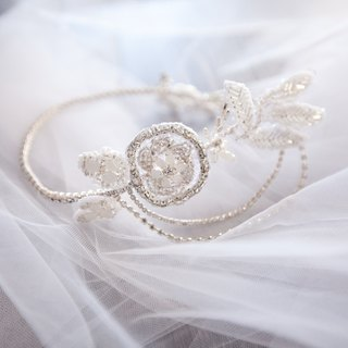 [Daisy] bride hair ornaments hand jewelry wedding jewelry