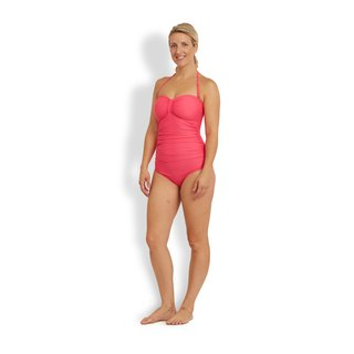 ABIGAIL Bandeau one piece women sculpture swimsuit