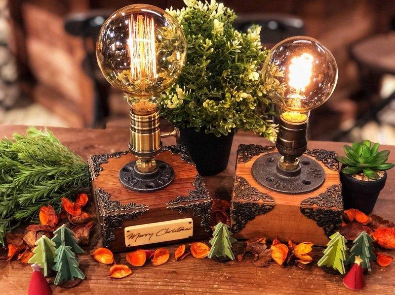 【 1人成團 】/ 手作桌燈 / 經典工業風造型燈飾DIY