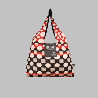 grion bag - Shoulder dorsal section (M) - Limited models - the red circle geometry