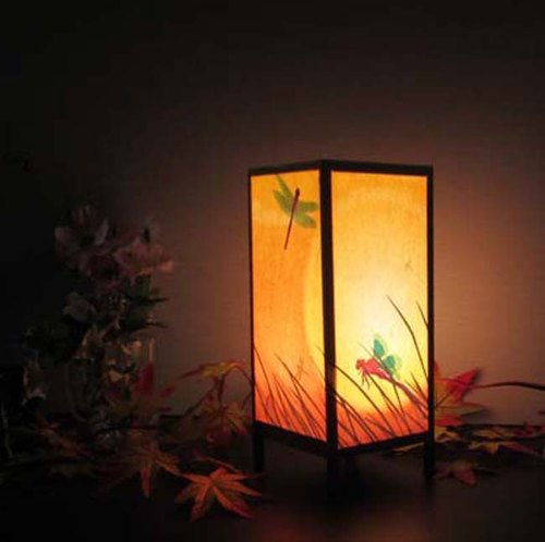 """Autumn of dragonfly"" peace of the shining-Healing Light (10-22) No. 3 desk stand"