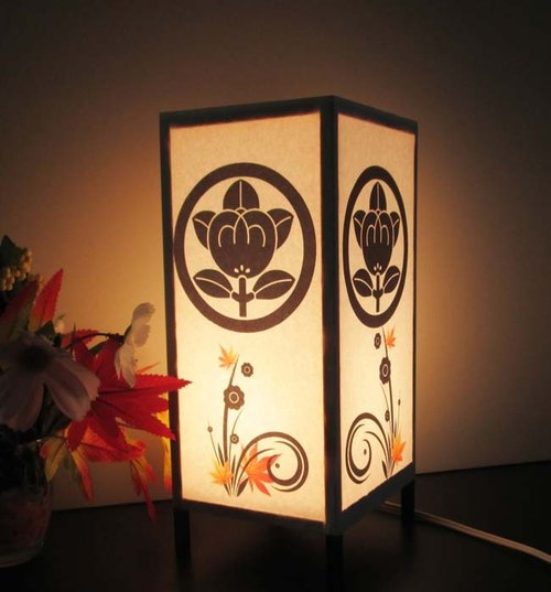 Light Stand-3-inch-winning family crest dream lamp hunting «round of Tachibana »8-91-peace