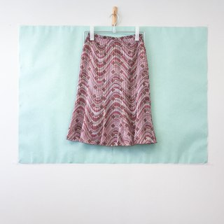 ... {Acorn girls :: vintage skirt half skirts lined with floral half wave skirt