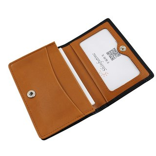 LAPELI │ mixed color card holder black / brown