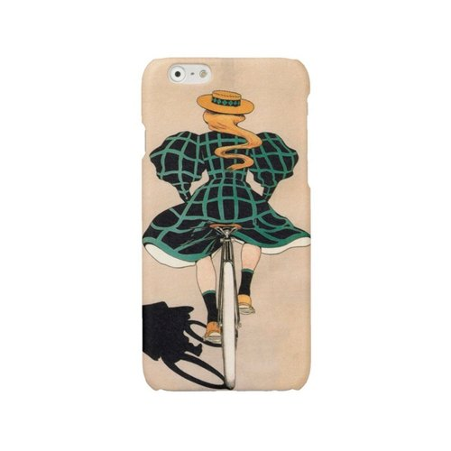 iPhone 6 7 Plus case bike iPhone 6 case vintage iPhone 7 case girl on bike iPhone 5s cover iPhone 4 4s case Samsung Galaxy S4 S5 S6 S7 case bicycle 225