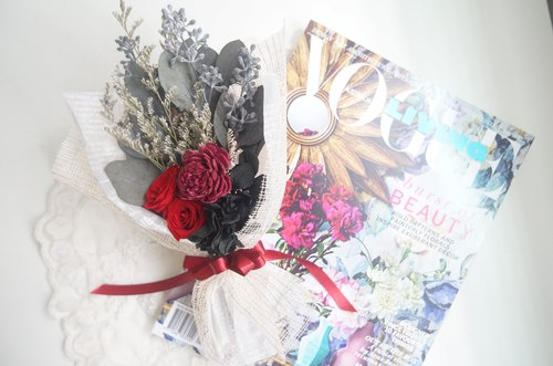 Sola fragrance Bouquet of roses - red