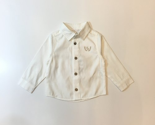 white shirt easy to take baby