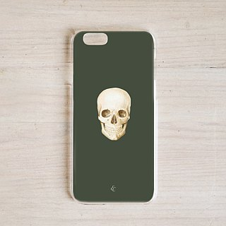 Smirking laugh organ phone case