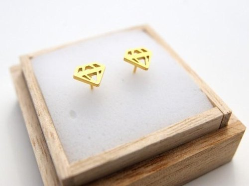 side effect diamond earrings Gold