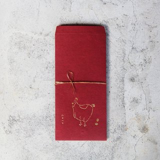 Cotton handmade cuckoo chicken red envelopes