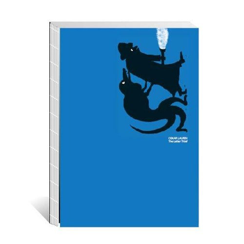 Hardcover notebook - letters thief