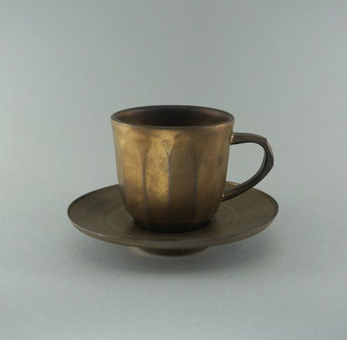 _ Dan ceramic metal glaze Cup group