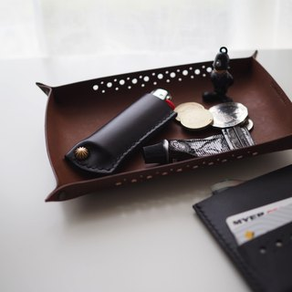 Leather Lighter Case火機套: The Midhurst East Leather Lighter Case - SMALL SIZE - L038 BLACK/L039 CARAMEL - lighter case, lighter sleeve, lighter cover, cow leather, sheep skin leather, xmas, gift, brass, hand sewn, unisex, black, caramel, personalised, 牛皮,羊皮