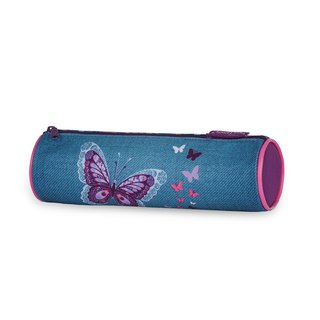 Tiger Family Goethe Pencil Bag - Flower Sea Butterfly