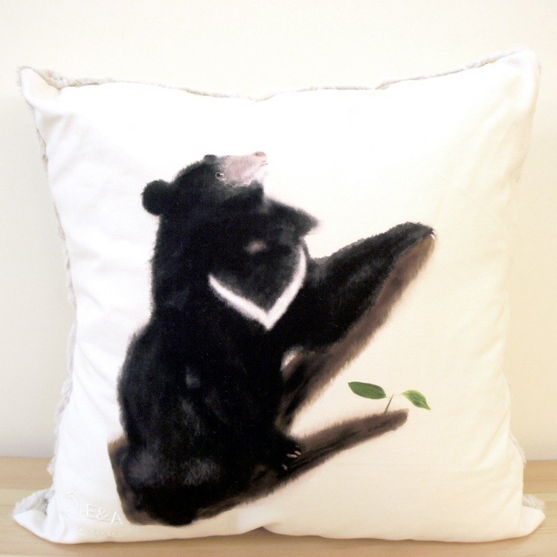 Taiwan Black Bear & Clay Cushion -50cm