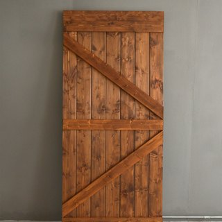 Country industrial wind barn door piece (single-sided arrow) _ Mei Shan slash door / sliding door / cabinet door / room door