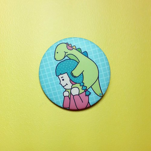 My dinosaur good friend / badge