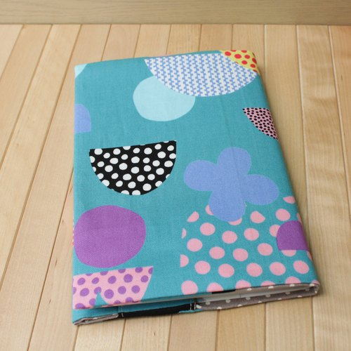 adoubao- Cloth Book Clothing A5 Book Cover - Blue & Islands