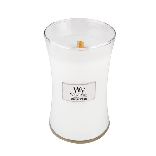 [VIVAWANG] WW22oz fragrance cup wax (coconut island). Thick warm style, feel like being in the South China Sea island.