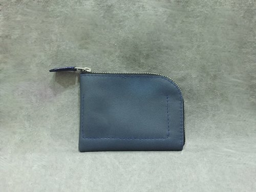 -The Way- Wallets, purse - leather (Mediterranean Blue)