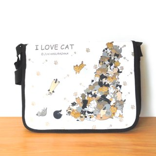 Cat Waterproof Schoolbag/Postman Pack 2