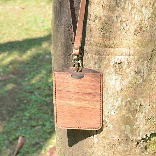 【Wood-Design x WoodMan】ID Card holder with Lanyard
