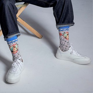 LIFEBEAT x WU JIU PLEASE / SPIRITS REALM HOSIER Unisex Socks