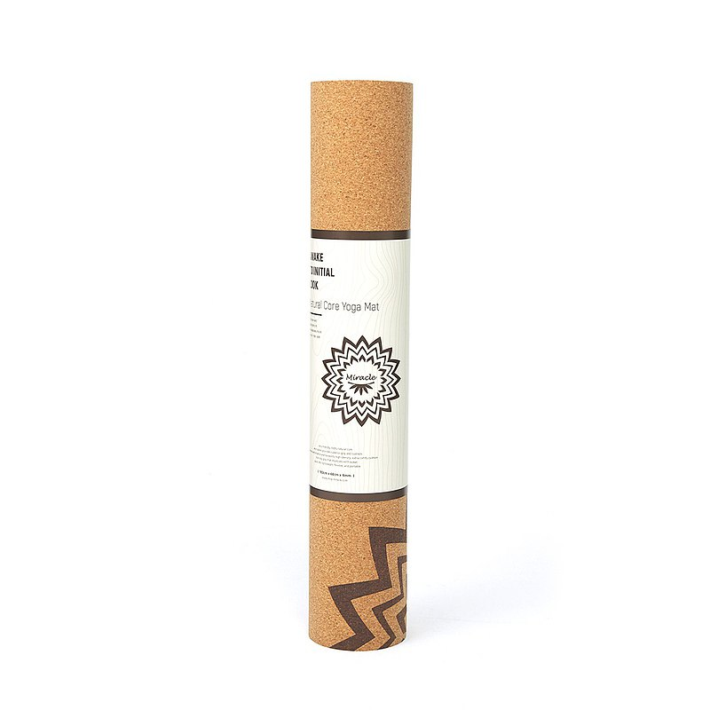 MIRACLE 墨瑞格│ Yoga mat Primary Color Awakening Cork Yoga Mat