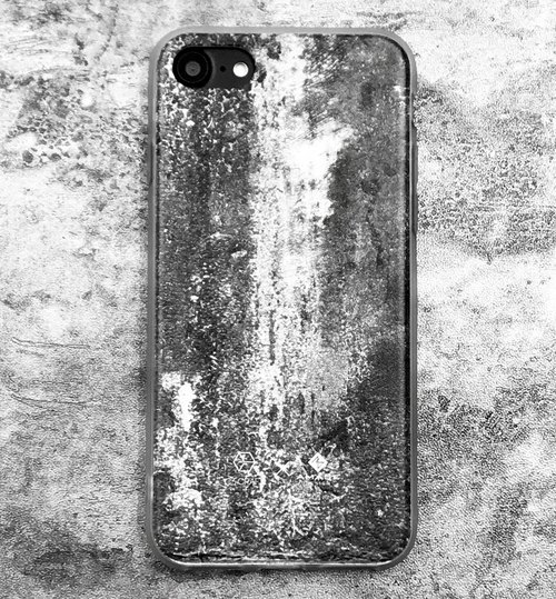 Rough Cement iPhone Case