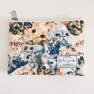 A cat bag/cosmetic bag in one place | 815a.m